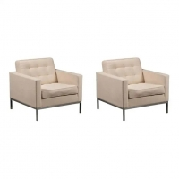 Pair of armchairs Florence Knoll
