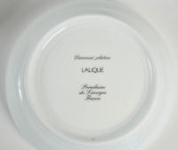 """Lalique & Limoges Service de Table """"Damassé Platine"""""""