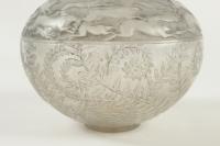 """René Lalique Vase """"Lièvres"""""""