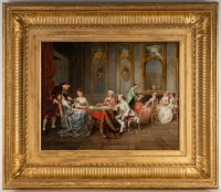 Peinture Adolphe Francois Monfallet