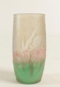 """Daum Vase"""" Iris"""""""