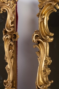 Suite de 4 miroirs 19e siècle