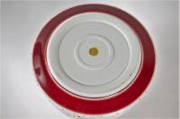 Xavier Duroselle - Important pot couvert en porcelaine à couverte craquelée