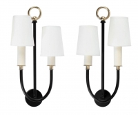 1950s Pair of Maison Lunel Sconces