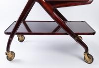 Chariot de bar par Ico Parisi 1950