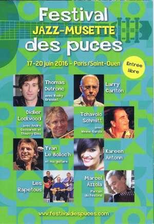 Festival Jazz Musette des Puces 2016