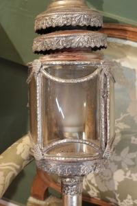 Paire de lampes de Calèche d'époque Restauration.