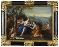 La naissance d'Adonis - Marcantonio Franceschini (1648 – 1729) et atelier vers 1690