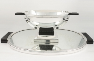 Cantre de table en Argent design Louis TARDY Orfèvre Jean TETARD