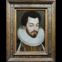 Henri III et Paul Stuart de Caussade – École de François Clouet fin XVIe siècle