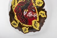 Grand plat par Jean Lurçat ( 1892 -1966) - céramique année 50