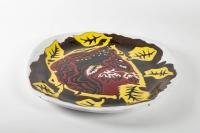 Grand plat par Jean Lurçat ( 1892 -1966)