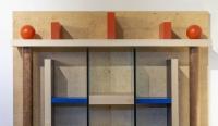 Bibliothèque Naomi pour Meccani 1993 par Ettore Sottsass Jr (1917-2007)
