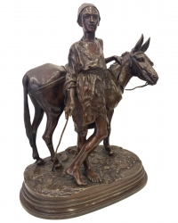 L' ânier du Caire par Alfred Dubucand (1828-1894)