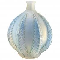Rene Lalique vase Malines Opalescent