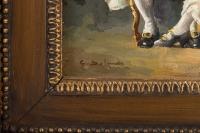 Paire de tableaux Espagnols - Juan Pablo SALINAS (1871-1946)