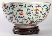 Grand bol japonais à décor Imari, circa 1700