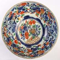 Très grand bol japonais à décor Imari, circa 1700
