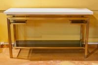 Console en bronze doré de la Maison Jansen