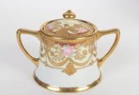 Service à café en écrin :Japon 19e siècle