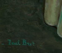Tableau de Paul Bret, daté 1932