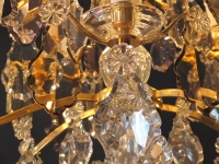 An Important Crystal Louis XV Style Chandellier.